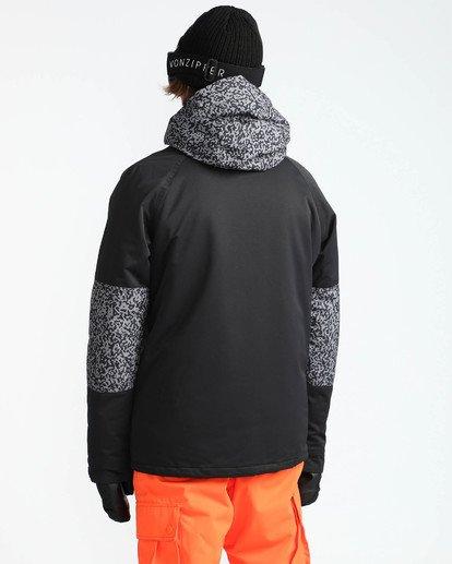 4 Men's All Day Solid Outerwear Jacket Grey MSNJQADI Billabong