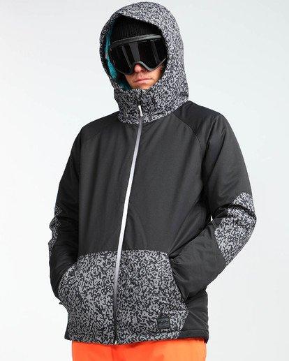 5 Men's All Day Solid Outerwear Jacket Grey MSNJQADI Billabong