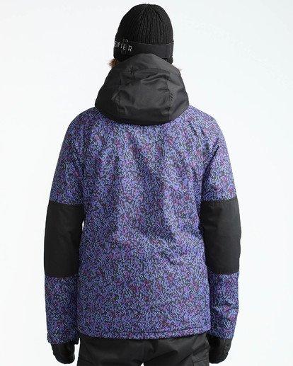 6 Men's All Day Solid Outerwear Jacket Purple MSNJQADI Billabong