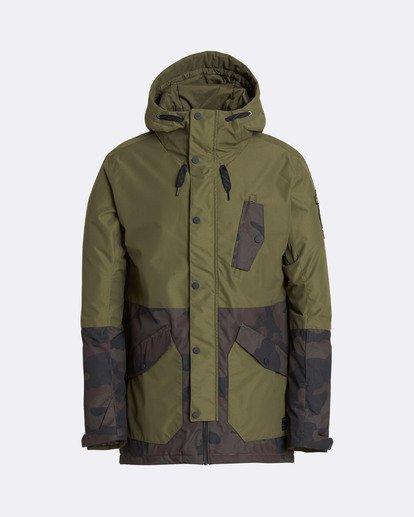 0 Men's Adversary Snow Jacket Camo MSNJQADV Billabong