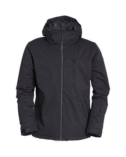5 All Day Snow Jacket Black MSNJVBAD Billabong