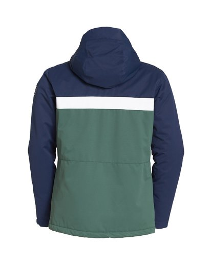 7 All Day Snow Jacket Green MSNJVBAD Billabong