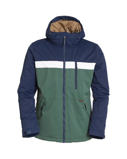 6 All Day Snow Jacket Green MSNJVBAD Billabong