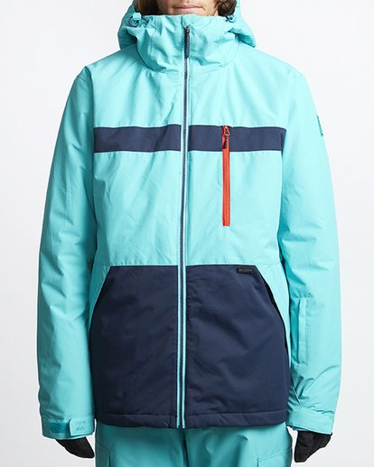 4 All Day Snow Jacket Blue MSNJVBAD Billabong