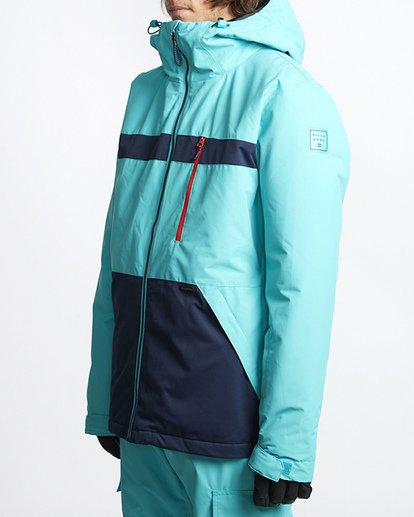 1 All Day Snow Jacket Blue MSNJVBAD Billabong