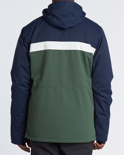 3 All Day Snow Jacket Green MSNJVBAD Billabong