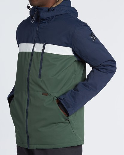 1 All Day Snow Jacket Green MSNJVBAD Billabong