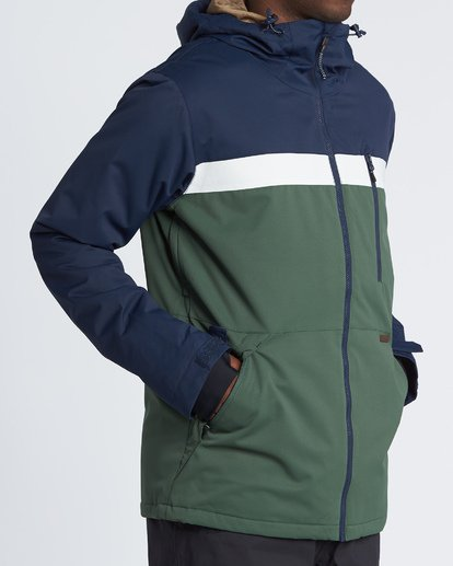 2 All Day Snow Jacket Green MSNJVBAD Billabong