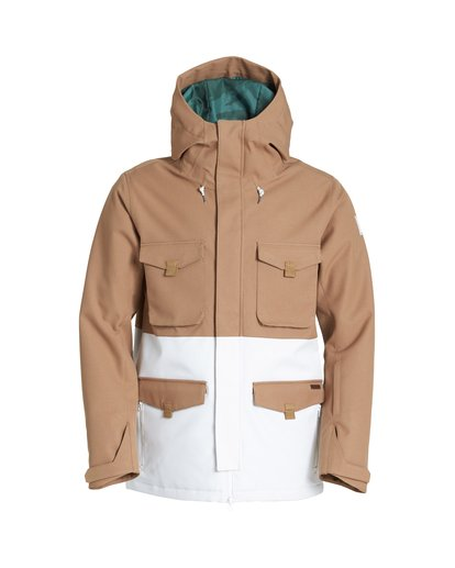 6 Adversary Snow Jacket Brown MSNJVBAY Billabong