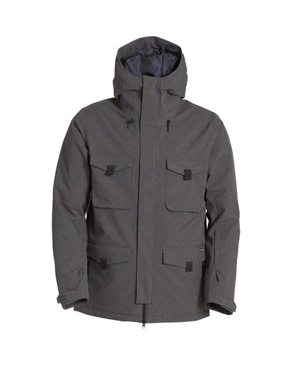 7 Adversary Snow Jacket Grey MSNJVBAY Billabong