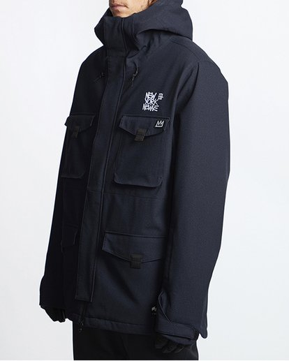 1 Adversary Snow Jacket Black MSNJVBAY Billabong