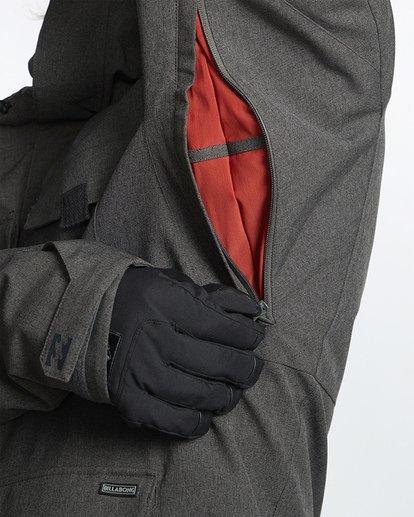 8 Adversary Snow Jacket Grey MSNJVBAY Billabong