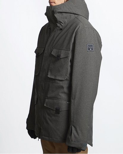 1 Adversary Snow Jacket Grey MSNJVBAY Billabong