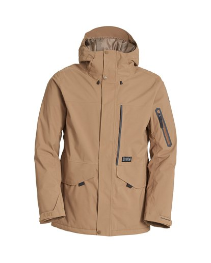 6 Delta Snow Jacket Brown MSNJVBDS Billabong