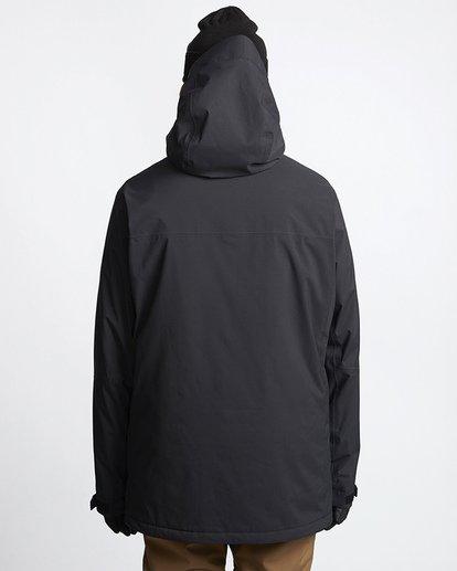 3 Delta Snow Jacket Black MSNJVBDS Billabong