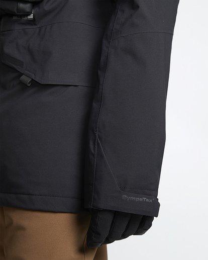 6 Delta Snow Jacket Black MSNJVBDS Billabong