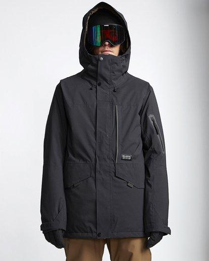 4 Delta Snow Jacket Black MSNJVBDS Billabong