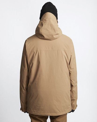 3 Delta Snow Jacket Brown MSNJVBDS Billabong