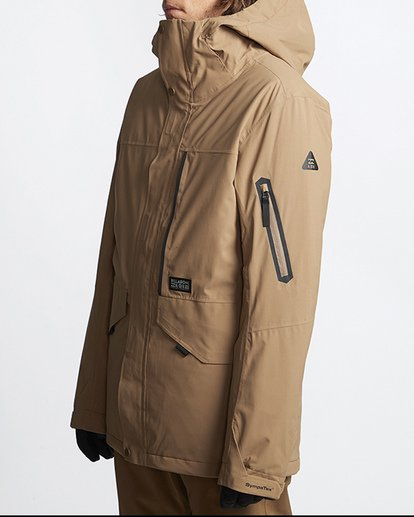 1 Delta Snow Jacket Brown MSNJVBDS Billabong