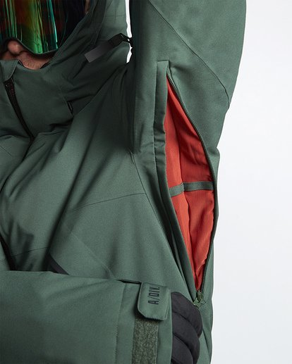 8 Expedition Snow Jacket Green MSNJVBEX Billabong