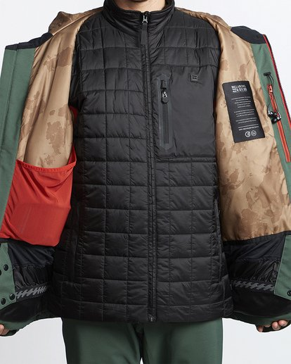 10 Expedition Snow Jacket Green MSNJVBEX Billabong