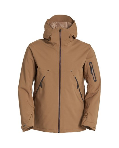 6 Expedition Snow Jacket Brown MSNJVBEX Billabong