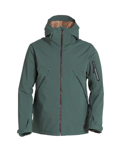 6 Expedition Snow Jacket Green MSNJVBEX Billabong