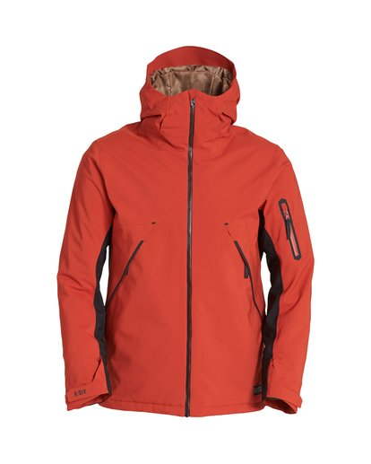 5 Expedition Snow Jacket Red MSNJVBEX Billabong