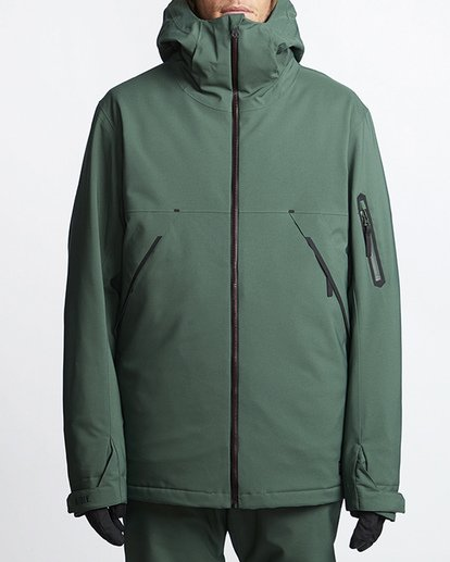 0 Expedition Snow Jacket Green MSNJVBEX Billabong