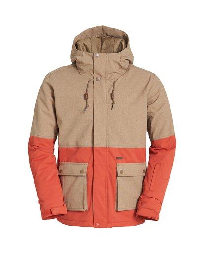 6 Fifty 50 Snow Jacket Multicolor MSNJVBFF Billabong