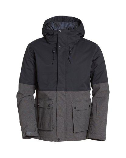 6 Fifty 50 Snow Jacket Grey MSNJVBFF Billabong