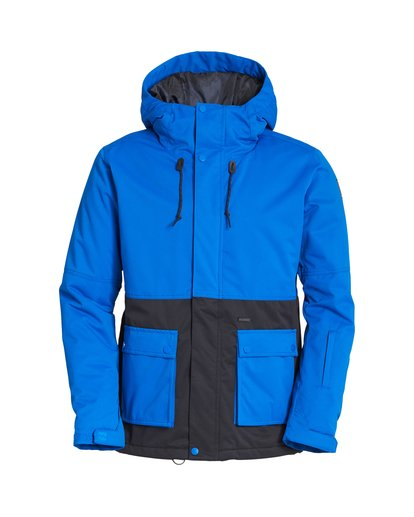 6 Fifty 50 Snow Jacket Blue MSNJVBFF Billabong