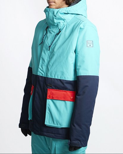 1 Fifty 50 Snow Jacket Blue MSNJVBFF Billabong