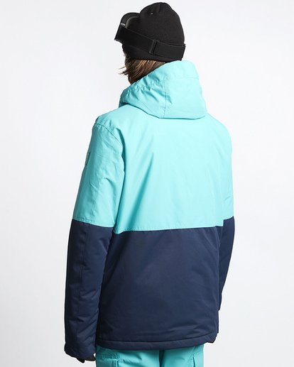 2 Fifty 50 Snow Jacket Blue MSNJVBFF Billabong