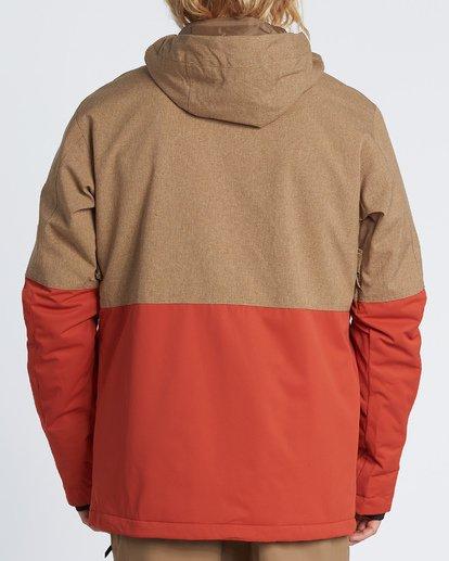 3 Fifty 50 Snow Jacket Multicolor MSNJVBFF Billabong