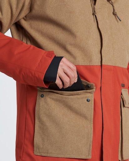 4 Fifty 50 Snow Jacket Multicolor MSNJVBFF Billabong