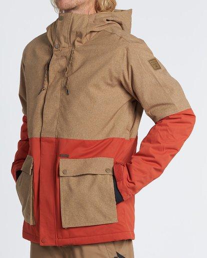 1 Fifty 50 Snow Jacket Multicolor MSNJVBFF Billabong