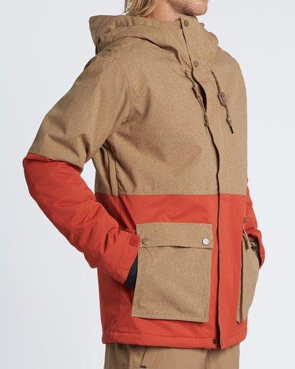 2 Fifty 50 Snow Jacket Multicolor MSNJVBFF Billabong
