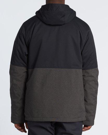 3 Fifty 50 Snow Jacket Grey MSNJVBFF Billabong