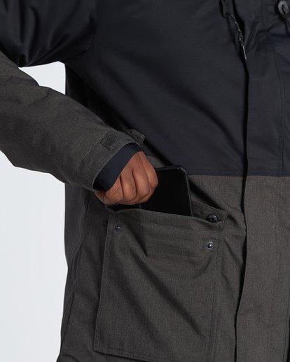 4 Fifty 50 Snow Jacket Grey MSNJVBFF Billabong