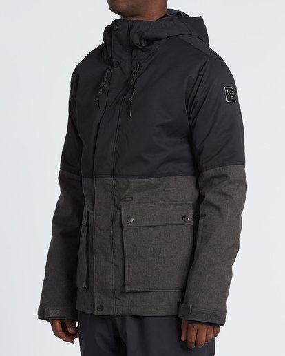 1 Fifty 50 Snow Jacket Grey MSNJVBFF Billabong