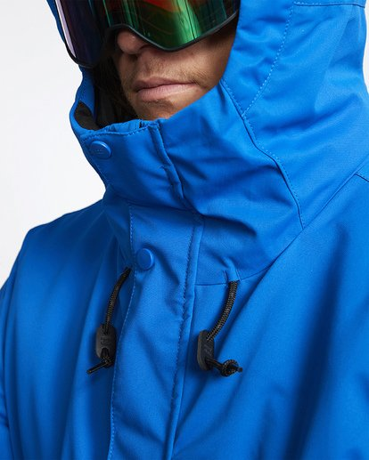 5 Fifty 50 Snow Jacket Blue MSNJVBFF Billabong