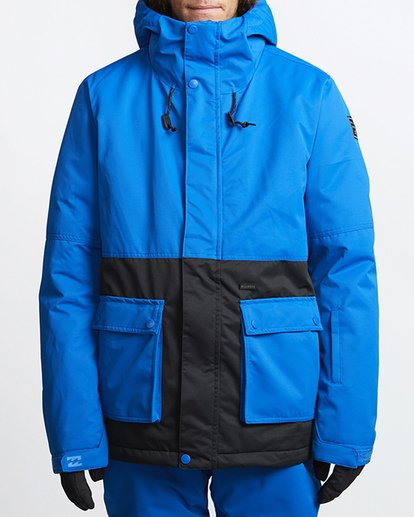 0 Fifty 50 Snow Jacket Blue MSNJVBFF Billabong