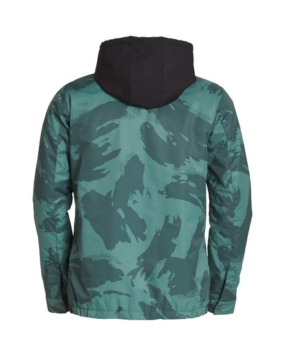 7 Fastplant Snow Jacket Black MSNJVBFP Billabong