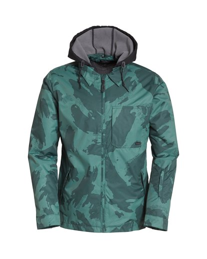 6 Fastplant Snow Jacket Black MSNJVBFP Billabong