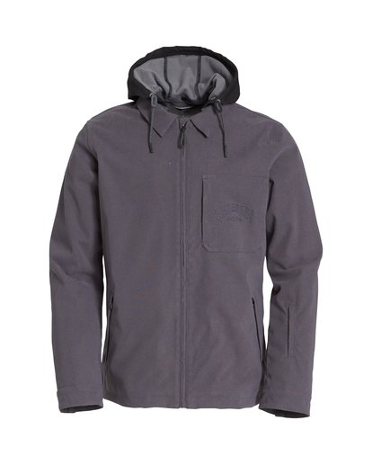 5 Fastplant Snow Jacket Grey MSNJVBFP Billabong