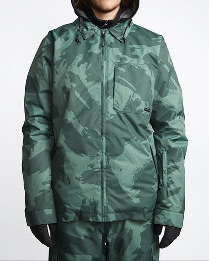 0 Fastplant Snow Jacket Black MSNJVBFP Billabong