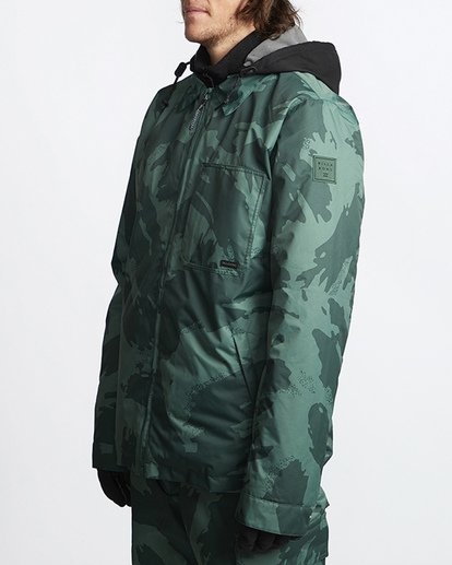 1 Fastplant Snow Jacket Black MSNJVBFP Billabong