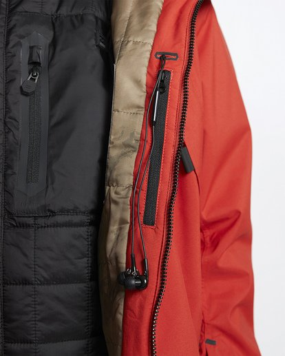 7 Prism Shell Snow Jacket Red MSNJVBPS Billabong