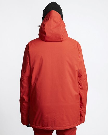 2 Prism Shell Snow Jacket Red MSNJVBPS Billabong